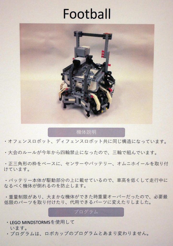 サッカーロボット説明