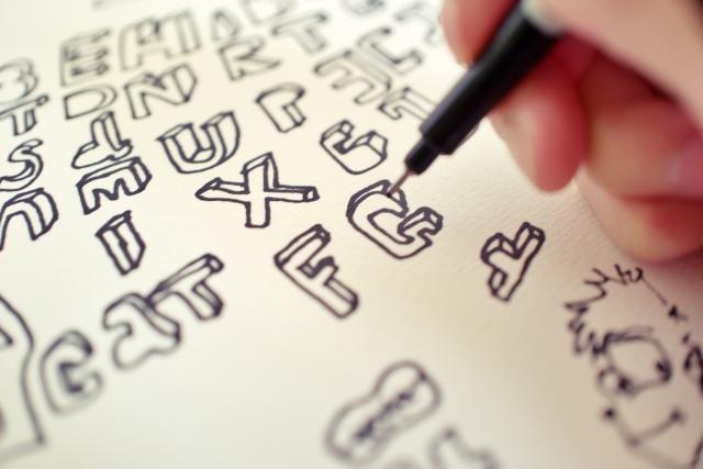 グラフィックなイラストを描,手描き,アナログ,色塗り,デザイナー,絵師,クリエイター